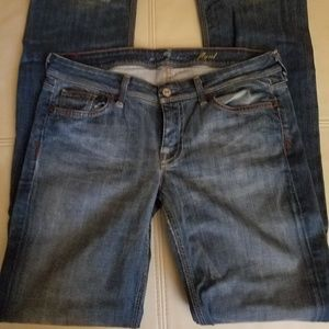 """7 for all Mankind Jeans 30 with 34"""" inseam"""